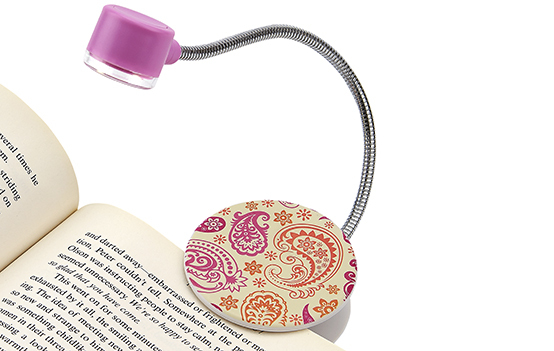 Carson FL - 90 LumiFlex Flexible Clip-On LED Book Light